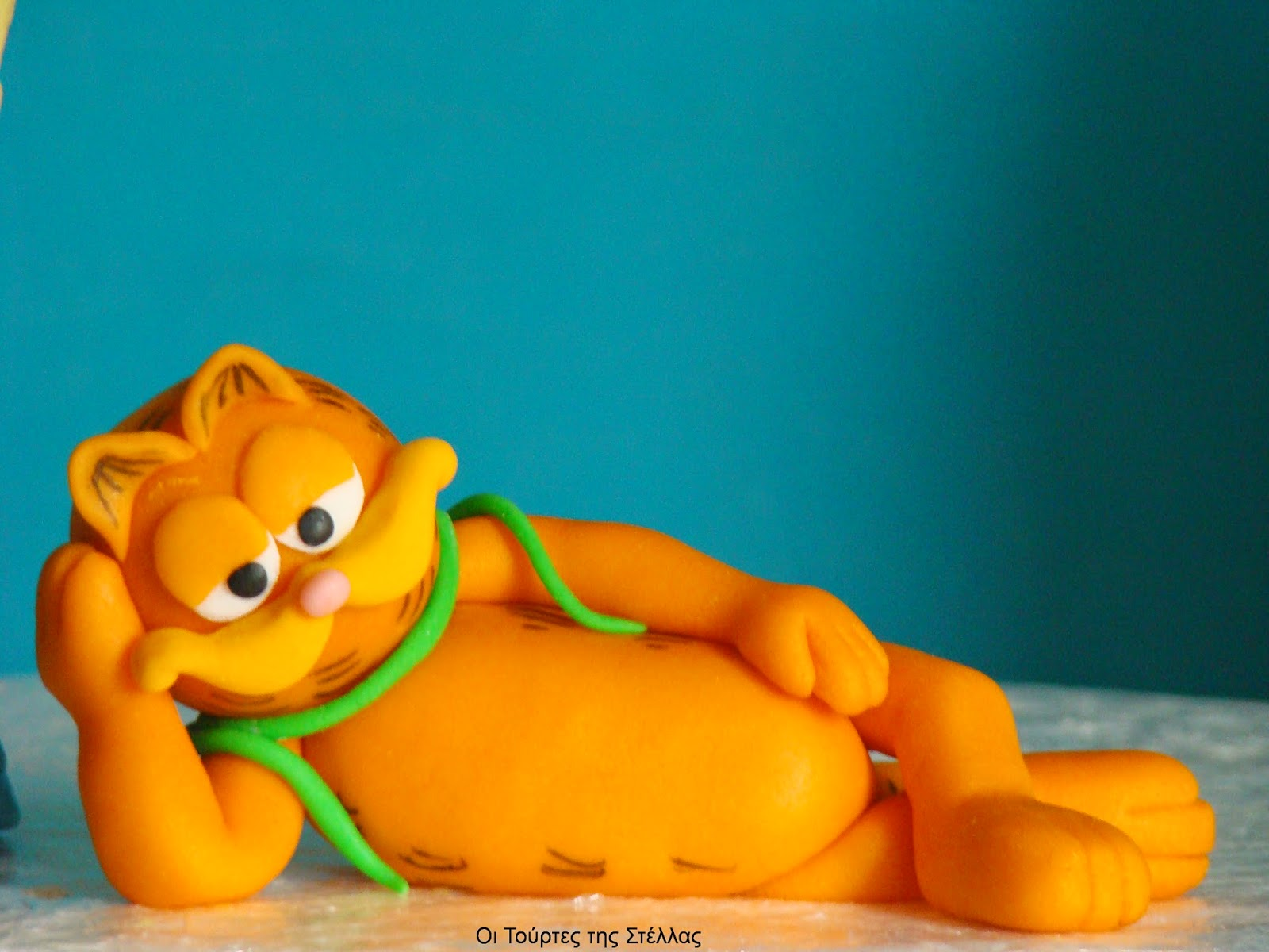 Φιγούρα Garfield από ζαχαρόπαστα