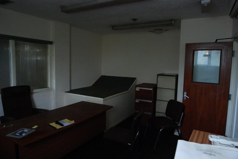 Abandoned Office Scene