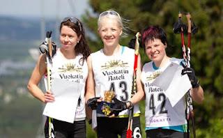 Кайса Мякяряйнен победила на Vuokatin Aateli Race