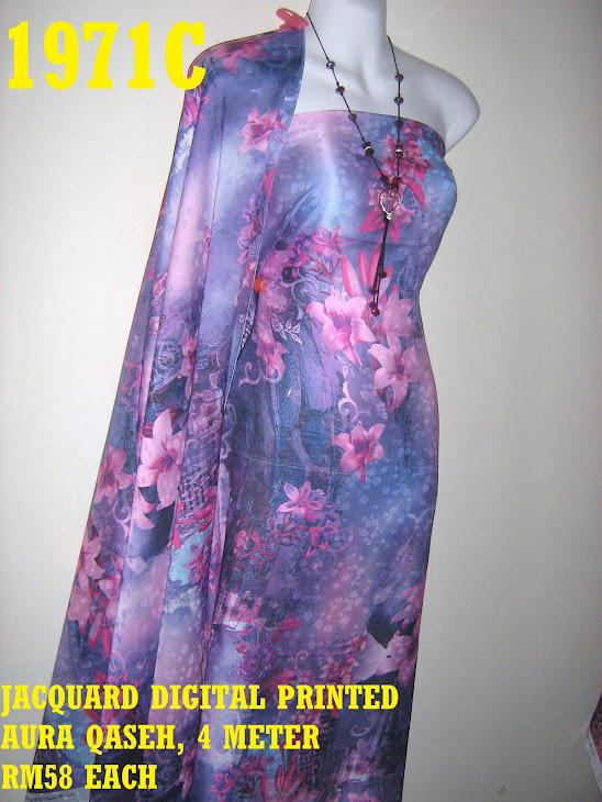 JDP 1971C: JACQUARD DIGITAL PRINTED AURA QASEH, 4 METER