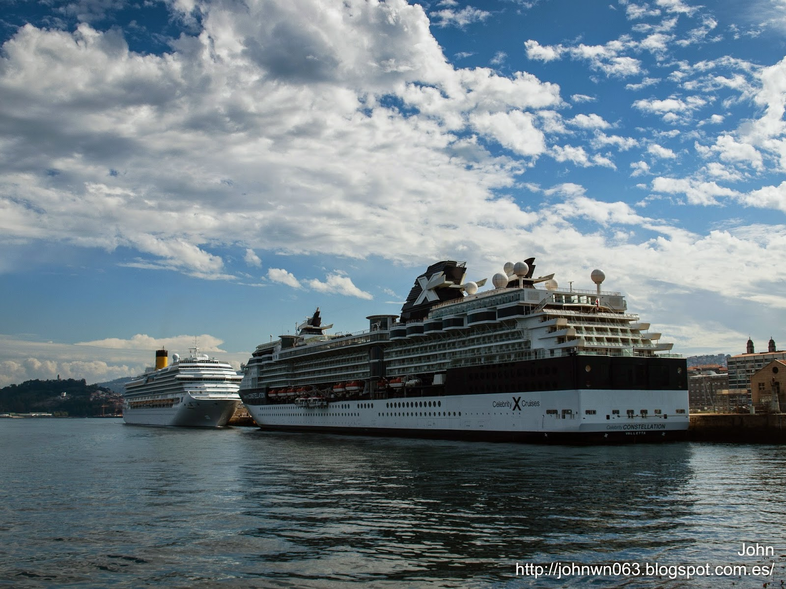 fotos de barcos, imagenes de barcos, celebrity cruise lines, celebrity constellation, vigo