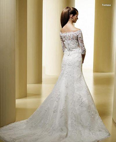Transparent White Wedding Dresses Design