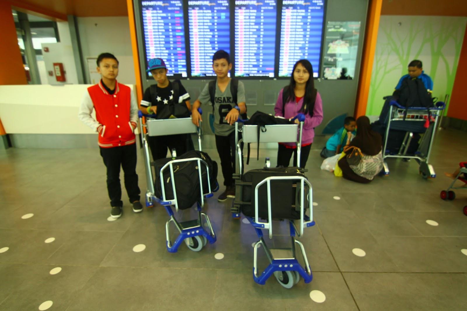 Nak balik Sarawak dari KLIA2