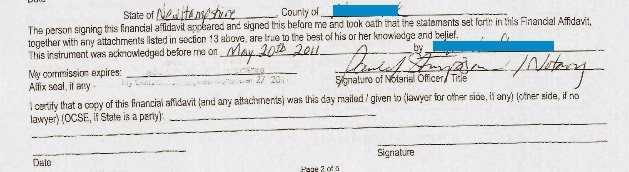 "Our family; legal documents signed by Midewiwin ""medicine woman"" AKA ""Herbalist"" for self-gain"