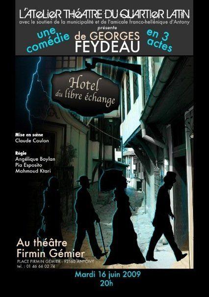 Au theatre ce soir l 39 hotel du libre echange mamzouka for Hotel pas cher ce soir