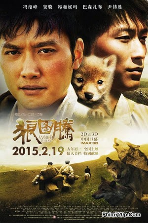 Wolf Totem 2015 poster