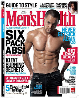 Derek Ramsay Men's Health October 2011 picture