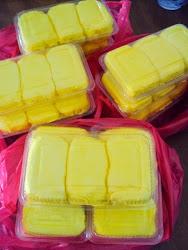 Utk Order : Durian Crepe berinti cream custard yg sangat sedap, crepenya nipis,
