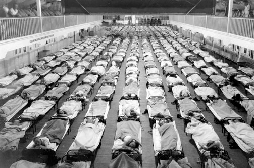the influenza pandemic of 1918 Introduction ↑ even though the so-called spanish influenza pandemic of 1918-1919 coincided in part with the final year of world war i, and even though it claimed.
