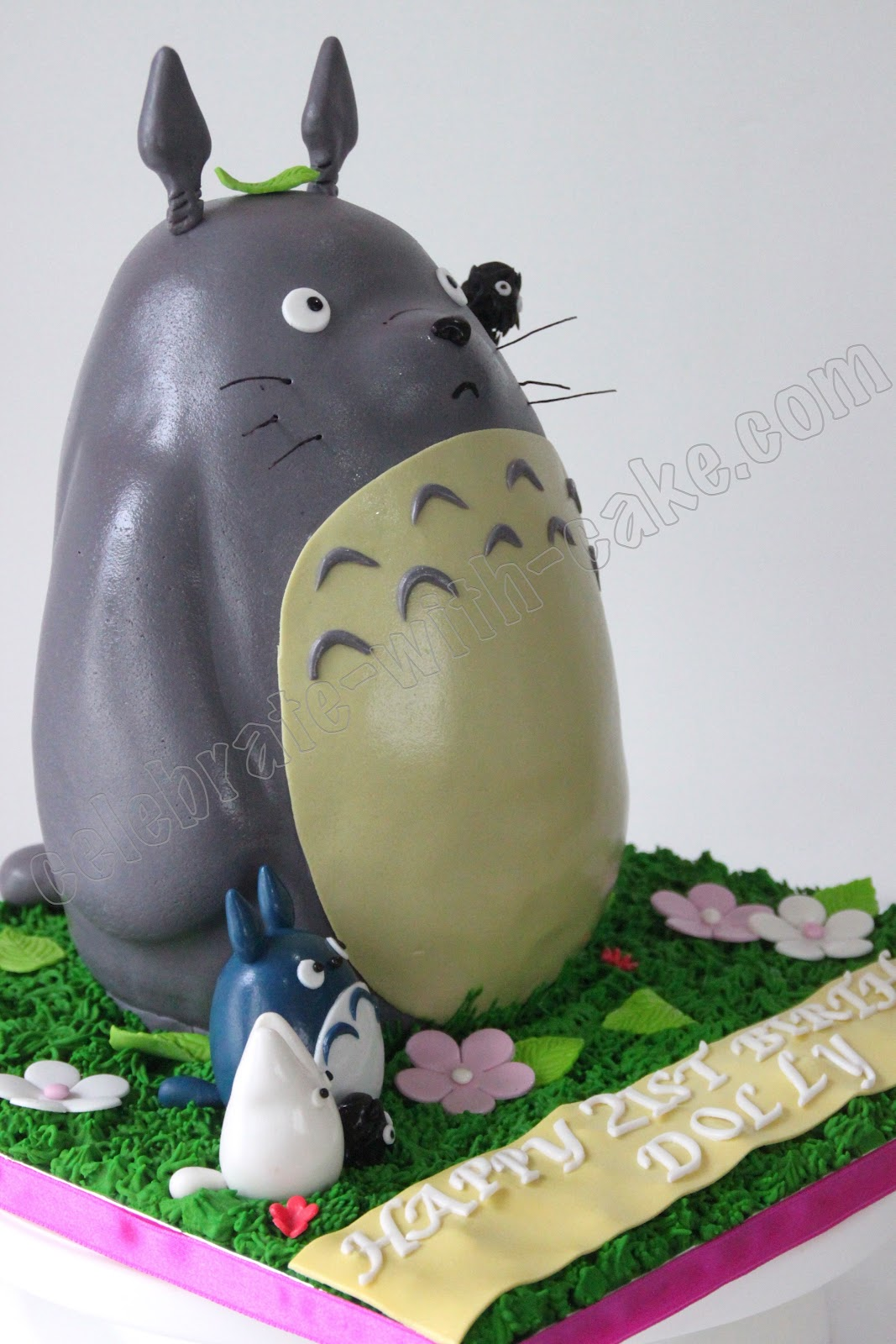 How To Make Totoro Cake