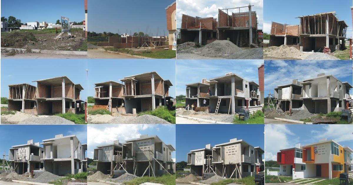 Dos casas dos dossier secuencia de construcci n for Casas en construccion