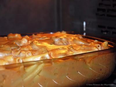 Timbale milanaise au jambon et aux champignons (voir la recette)