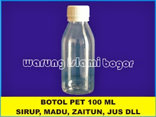 Botol PET Natural 100 ml