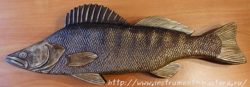 Резная шкатулка в подарок рыбаку