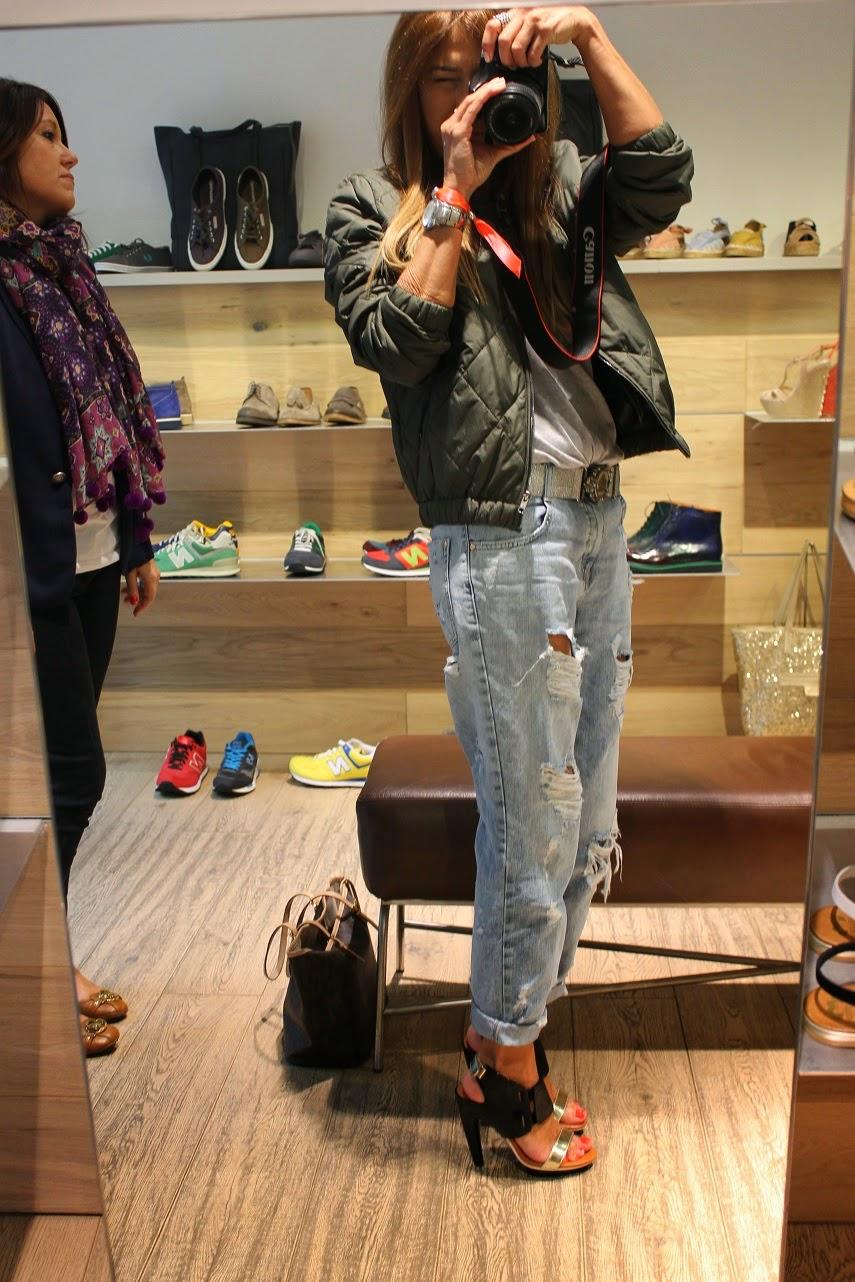 Street Style, Jeans, Blue, Silver, Fornarina, Grey, Gas, Swatch, Zara, American Vintage, Un apres midi de chien Paris, United Nude, Seraphita, Carmen Hummer, Blog de moda, Fashion blogger, fashion style, Life is Laf, Playmobil, Parfois