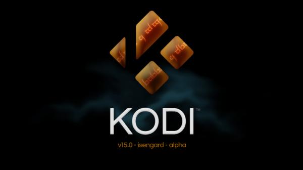 KODI 15.0 ISENGARD Alpha 1