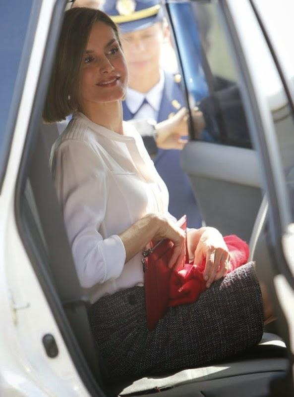 Queen Letizia Of Spain Visits Honduras