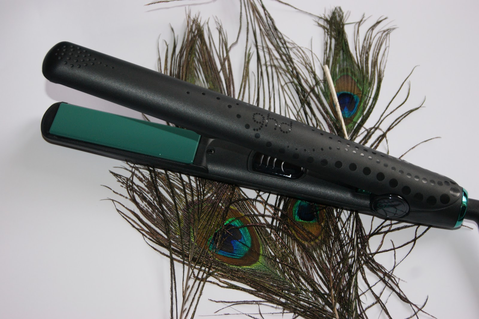 Ghd limited edition peacock styler green review the for Ghd design
