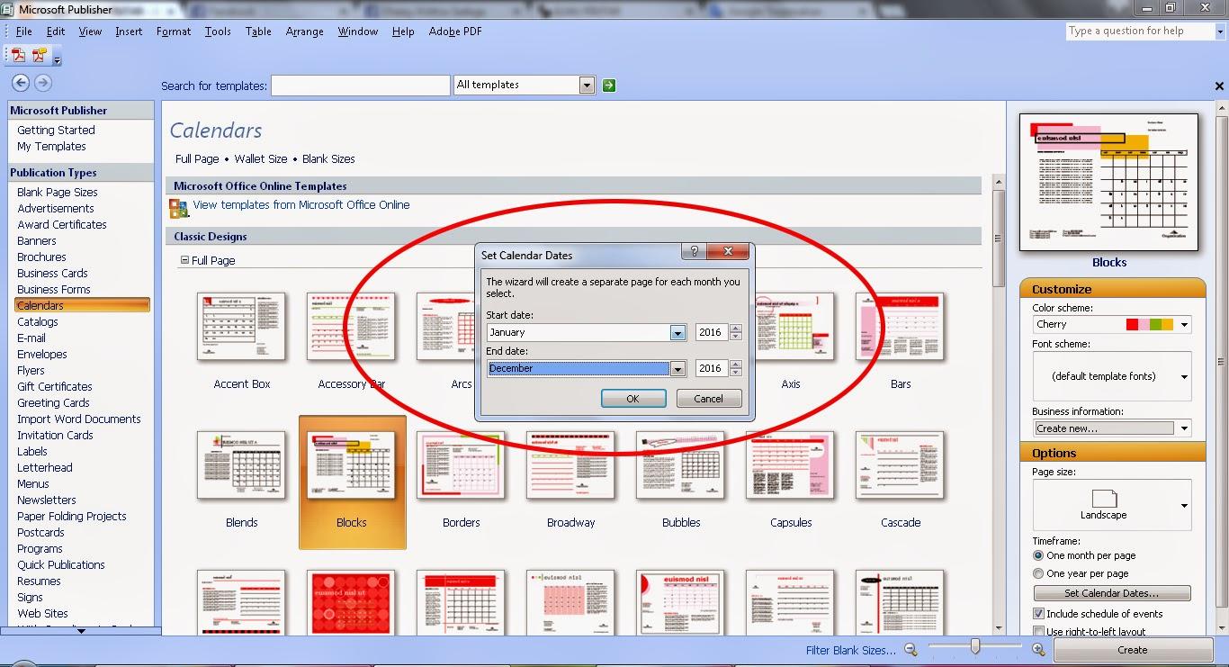 Ausgezeichnet Microsoft Publisher Kalendervorlage Zeitgenössisch ...