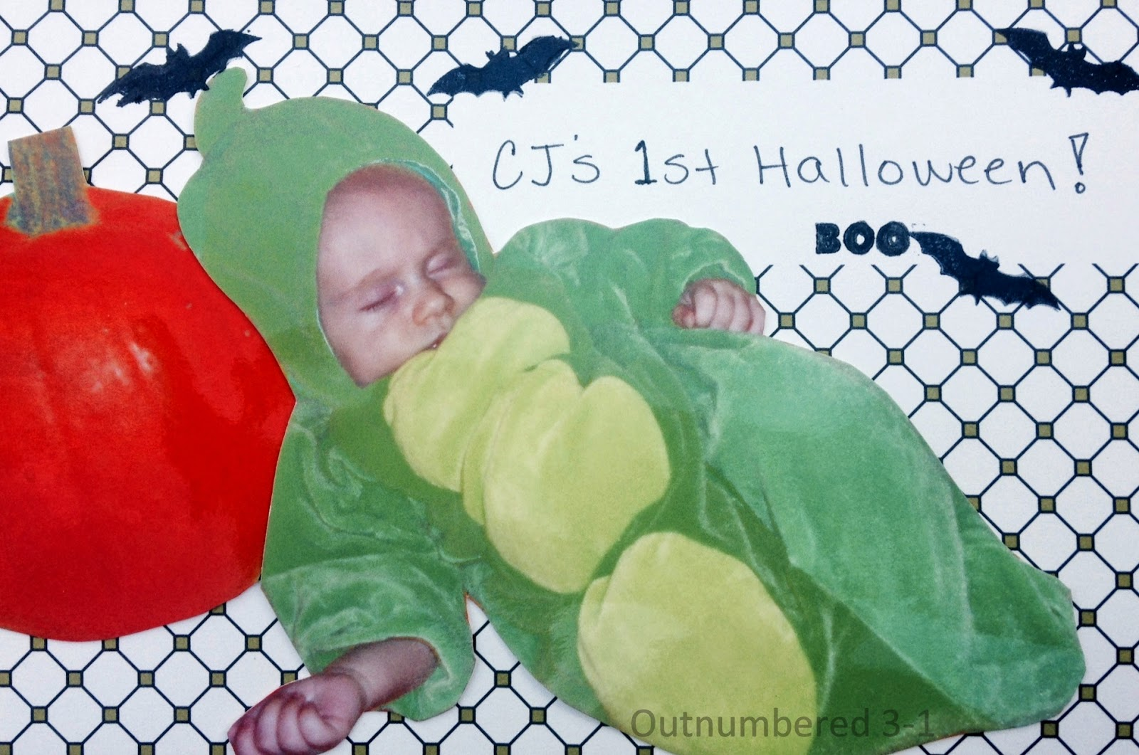 Holiday Memories, Stampin' Up!, Scrapbooking, Stamps, Halloween