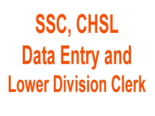 SSC DEO LDC Online Application Form, CHSL Exam Notice Date nic.in