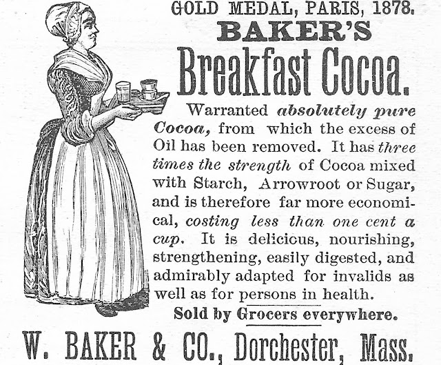 Royalty Free Antique Graphic/Baker's Breakfast Cocoa/printable clip art/via knickoftimeinteriors.blogspot.com