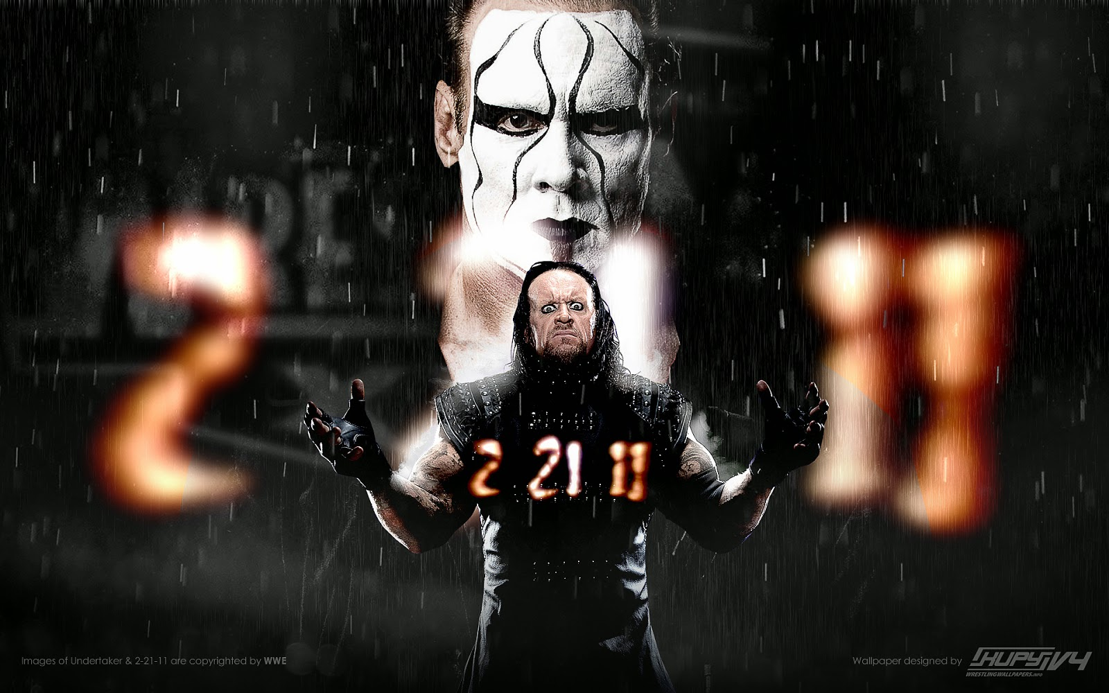 undertaker vs sting new hd wallpapers wrestling wallpapers