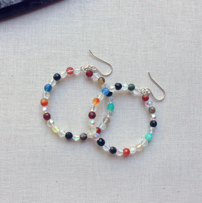 Lisa Yang\'s Jewelry Blog: How to Make Beaded Memory Wire Hoop ...
