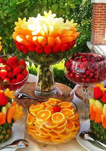 Fruit arrangement ideas craft art ideas Fruit bouquet