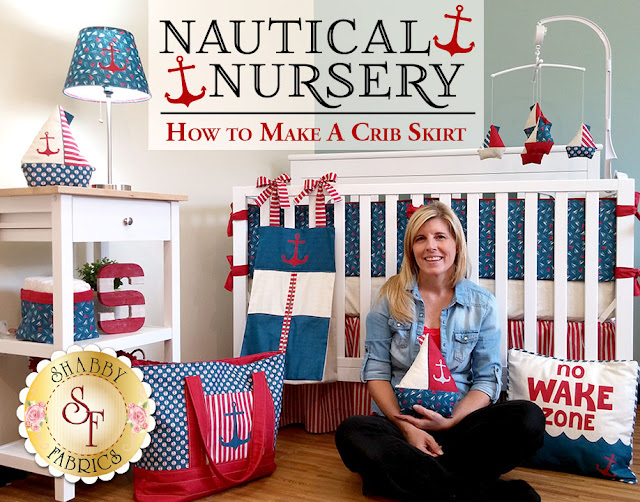 Nautical Nursery Series | Shabby Fabrics