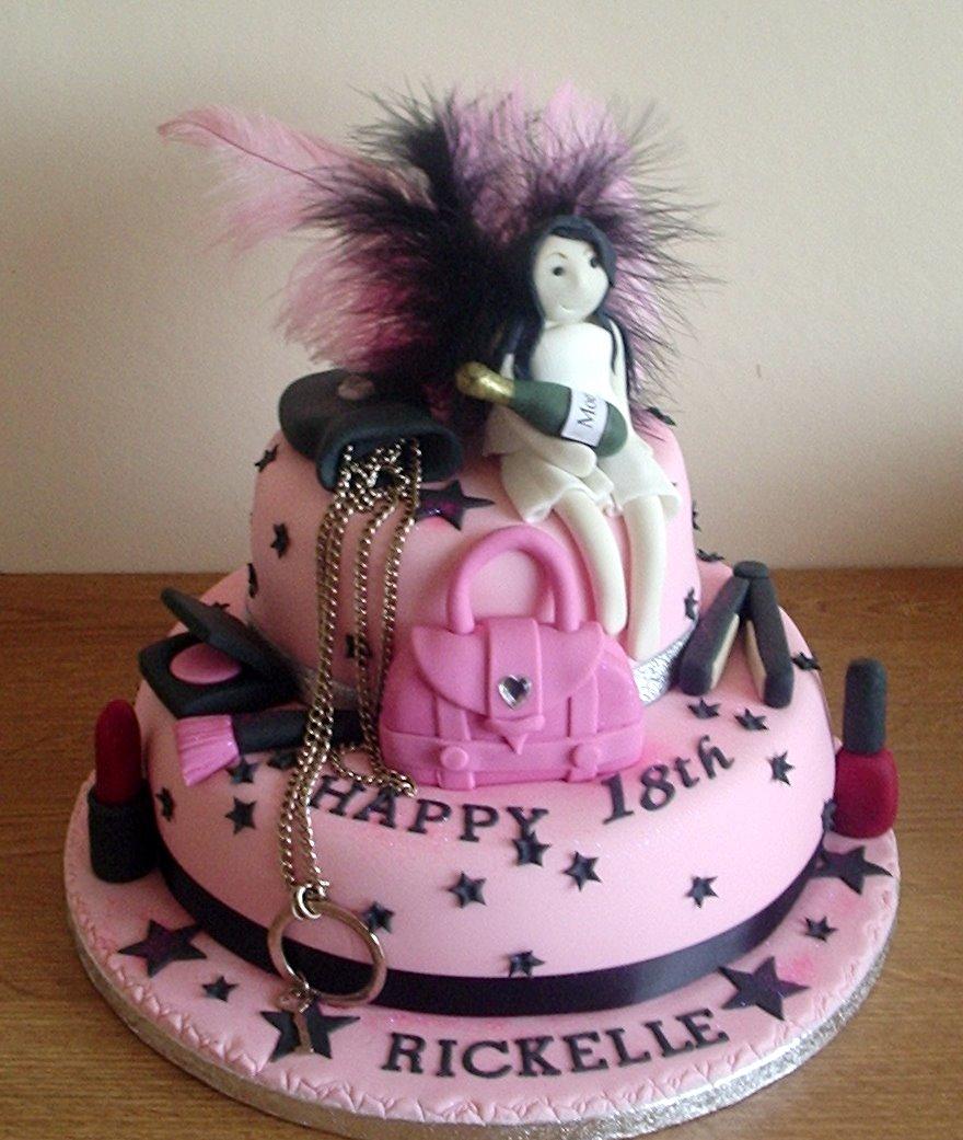 Girls 18th Birthday Cakes