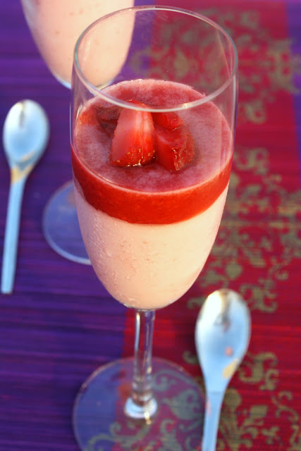 For the love of food!: Strawberry Verrine