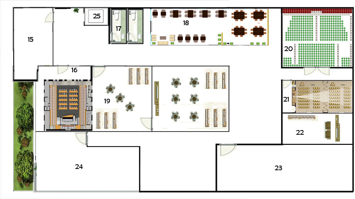 Centro de Cultura & Arte do Cariri: Planta #773123 1366 768