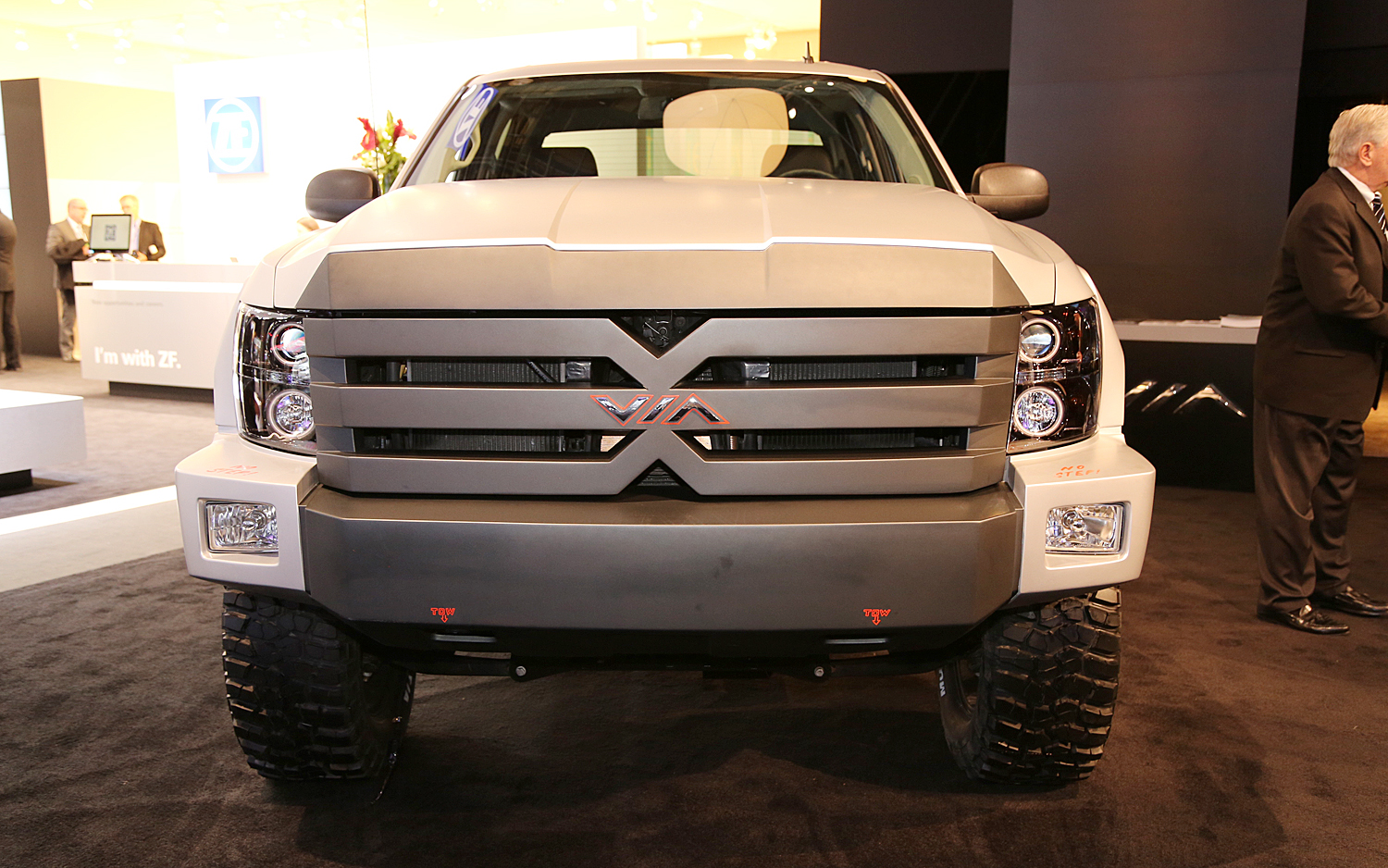Chevrolet Silverado 2013 based Via X-Truck Via Motors is an American car-maker that specializes in custom electric vehicles,