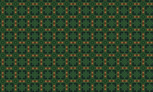 Clover green pattern