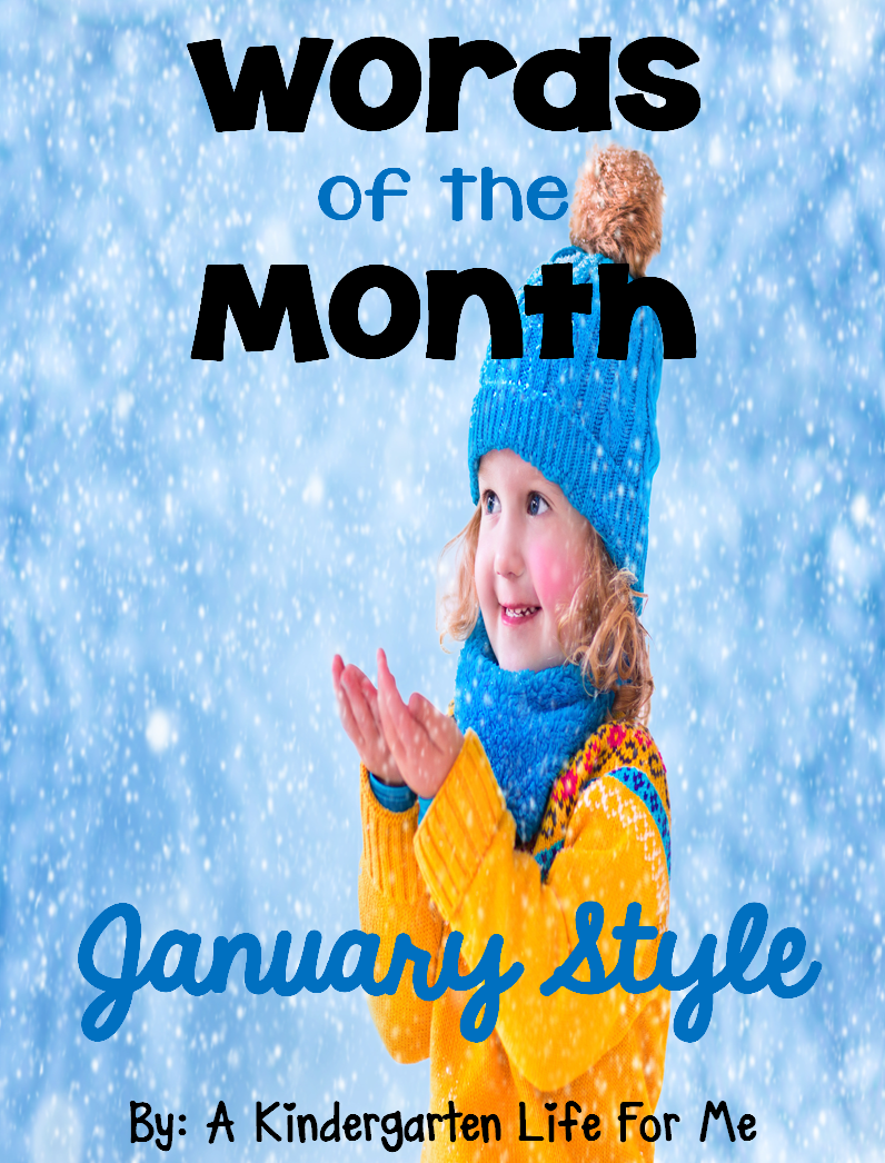 http://www.teacherspayteachers.com/Product/Words-of-the-Month-January-Style-1625800