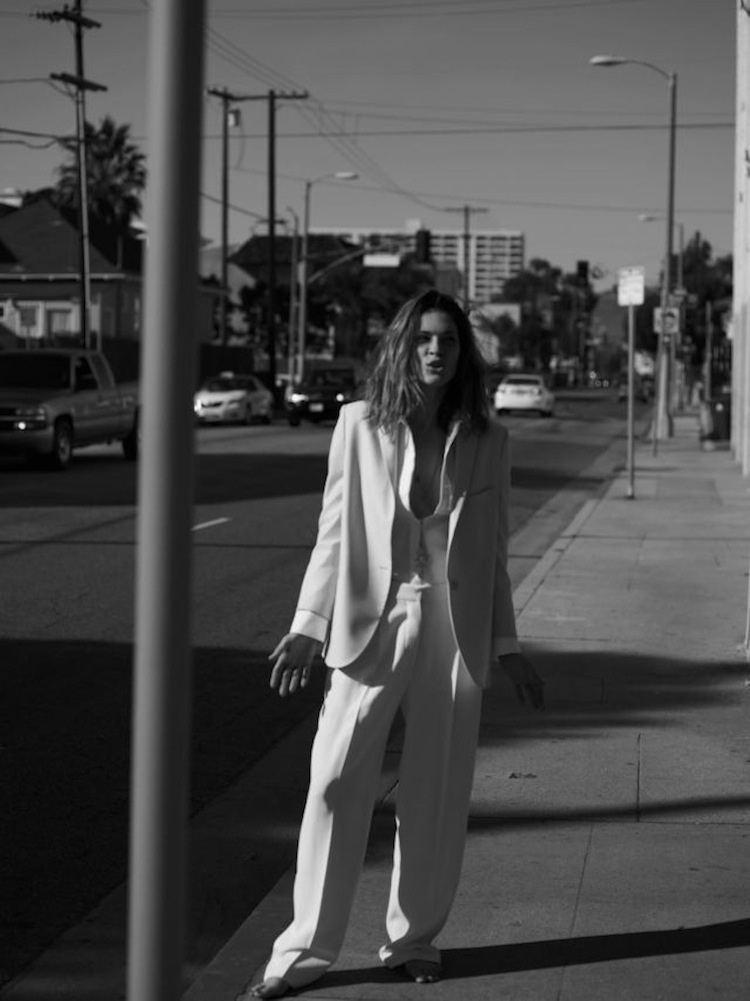 ERIN WASSON POSES FOR ANNEMARIEKE VAN DRIMMELEN IN RIKA MAGAZINE