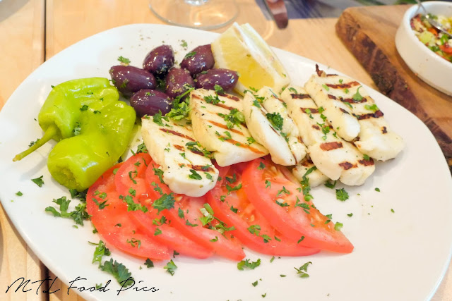Grilled Haloumi - Greek food Ottawa