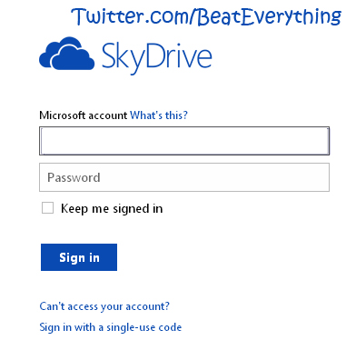 tutorial on how to use skydrive