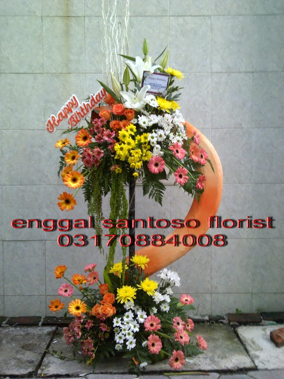 bunga standing ulang tahun