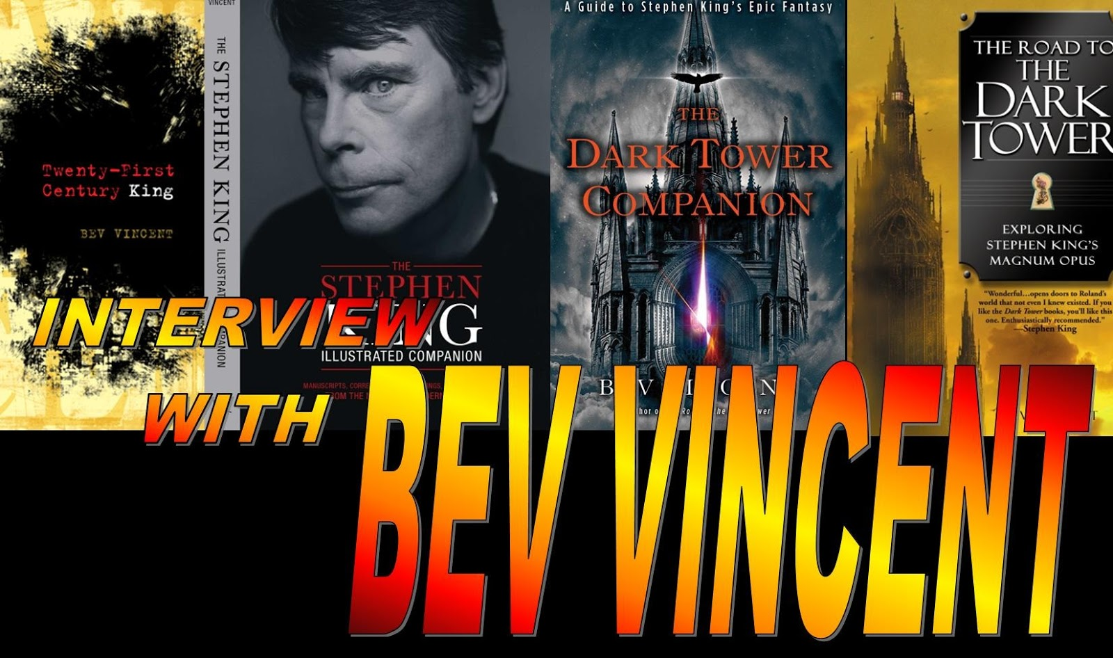 stephen king interview Horror master stephen king looks back on his four-decade career in this very in-depth interview.