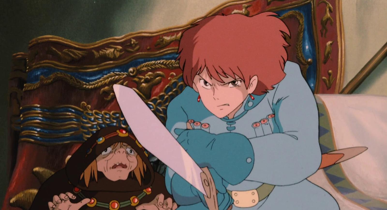 El cierre de Studio Ghibli será temporal Nausicaa-16
