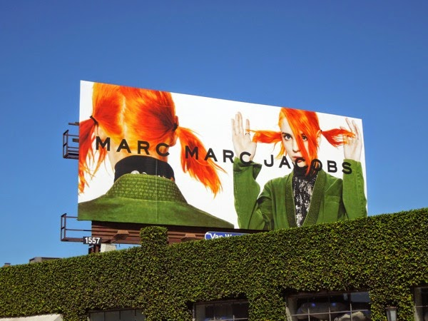 Marc by Marc Jacobs FW 2014 billboard
