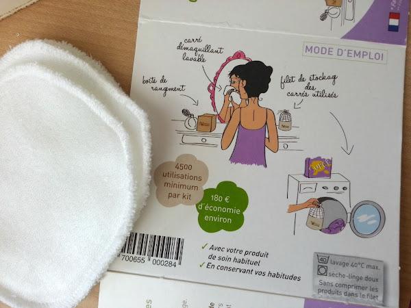 J'ai testé les cotons démaquillants lavables ! (Les Tendances d'Emma)