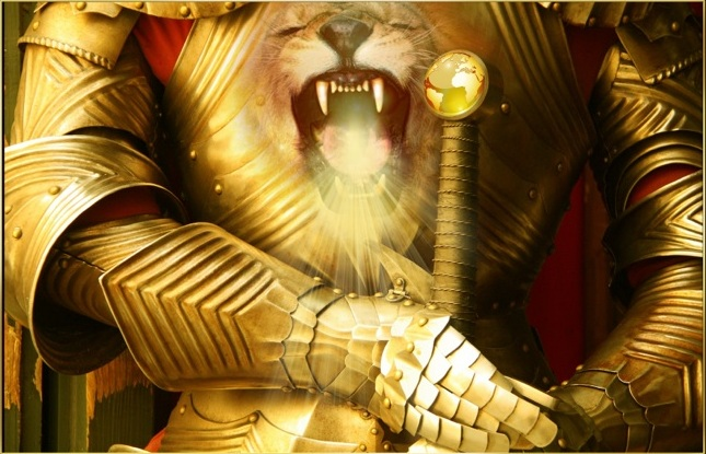 Image result for prophetic art roaring Lion