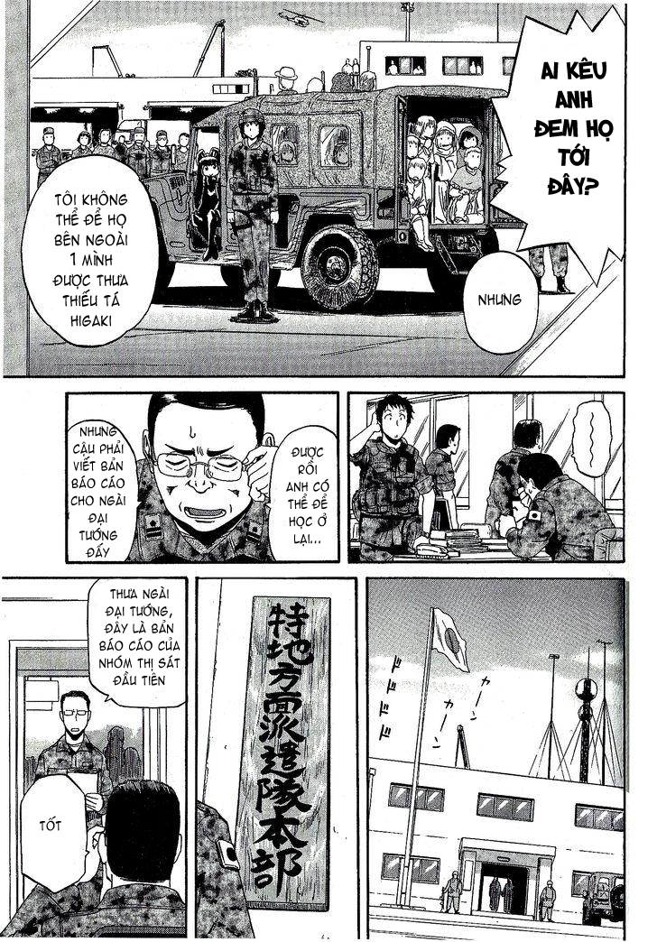 Gate – Jietai Kare no Chi nite, Kaku Tatakeri chap 7 Trang 9 - Mangak.info