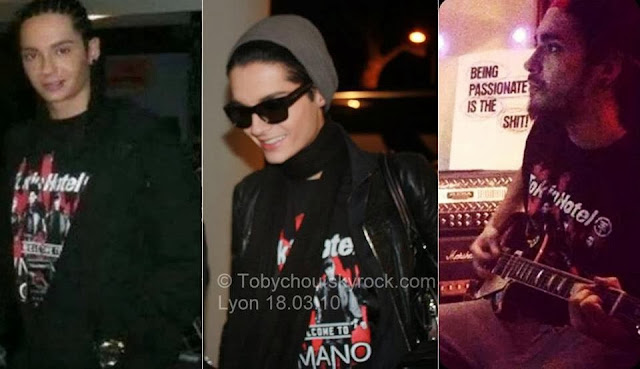Kaulitz - Twins -(2010-2013)- Tokio Hotel - t-shirt - everywhere! -tokio hotel - Colombia