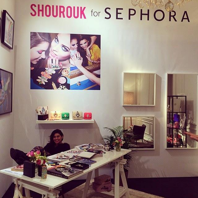 La collezione di Shourouk e Sephora