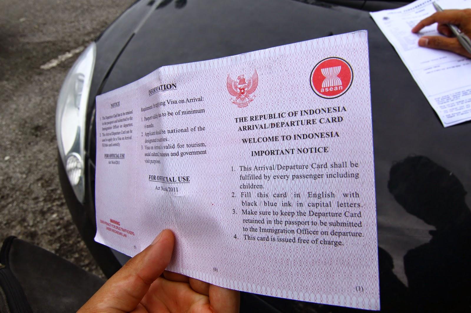 Urus pergerakan orang masuk ke Indonesia (Imigresen Indonesia)