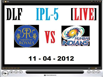 Rajasthan Royals vs Mumbai Indians cricket